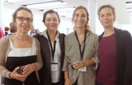 Marie-Céline Daubagna (Lido), Antónia Andúgar (Generalitat de Catalunya), Ione Hermosa, Nini Gorzerino (Central del circ)