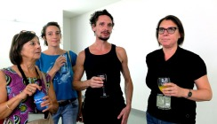Véronique Dubarry, Léonore Boulac (Acolytes), Florent Bergal (G. Bistaki), Marie-Laurence Sakaël (PACT, Lido/Grainerie)